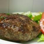 hamburgher di manzo 250 gr