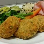crocchette di verdure con prosciutto cotto